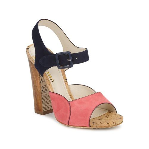 Shoes Women Sandals John Galliano AN3571 Pink / Marine