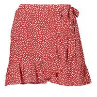 Clothing Women Skirts Betty London OLINDA Red / White