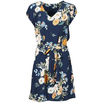 Clothing Women Short Dresses Betty London OWAKA Marine / Multicolour