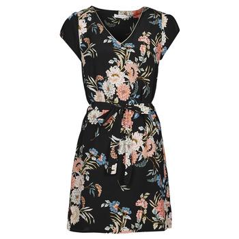 Clothing Women Short Dresses Betty London OWAKA Black / Multicolour