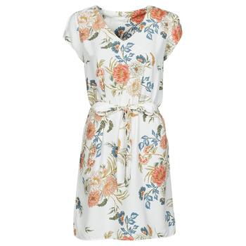 Clothing Women Short Dresses Betty London OWAKA White / Multicolour