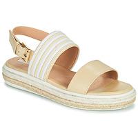 Shoes Women Sandals Geox LEELU Beige