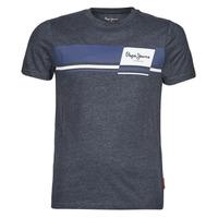 Clothing Men Short-sleeved t-shirts Pepe jeans KADE Blue