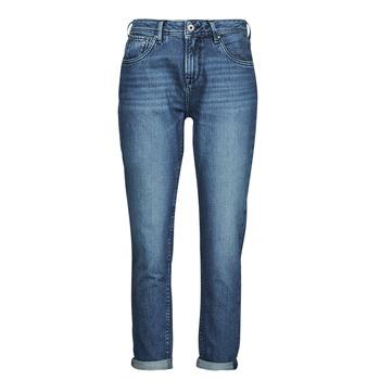 Clothing Women Straight jeans Pepe jeans VIOLET Blue / Medium