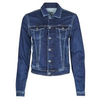 Clothing Women Denim jackets Pepe jeans CORE JACKET Blue