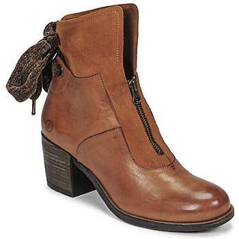 Shoes Women Ankle boots Casta PONTA Cognac