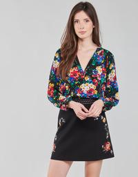 Clothing Women Tops / Blouses Desigual VERBENA Multicolour