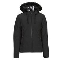 Clothing Women Duffel coats Desigual SNOW Black