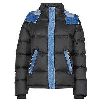 Clothing Women Duffel coats Desigual AUSTEN Black