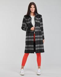 Clothing Women Coats Desigual CHRISTIE Black