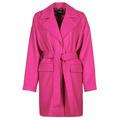 Desigual  RUBI  womens Coat in Pink