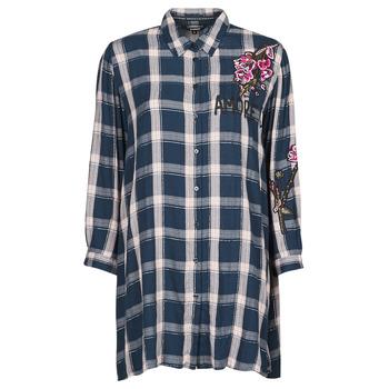 Clothing Women Tunics Desigual JACARANDA Blue