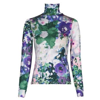Clothing Women Long sleeved tee-shirts Desigual INAYA Multicolour