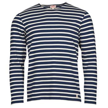 Clothing Men Long sleeved tee-shirts Armor Lux MARINIERES RUSTIQUE BIO GA1 Blue