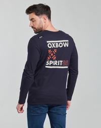 Clothing Men Long sleeved tee-shirts Oxbow N2TORJOK Marine