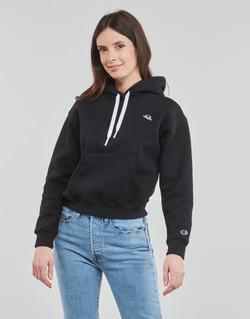 Clothing Women Sweaters Champion CHAMPION LOGO Black