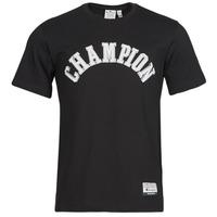 Clothing Men Short-sleeved t-shirts Champion 216575 Black