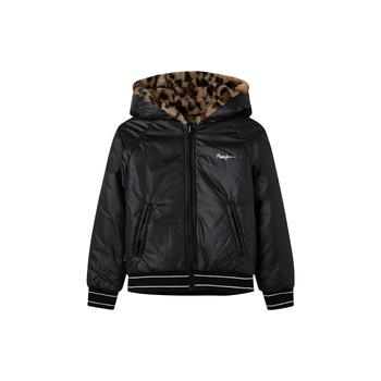 Clothing Girl Jackets Pepe jeans HANNA Black
