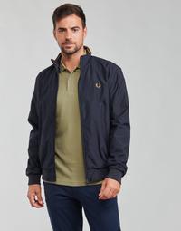 Clothing Men Jackets Fred Perry BRENTHAM JACKET Marine
