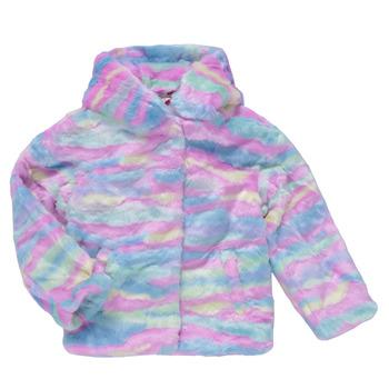 Clothing Girl Coats Desigual CONGO Multicolour