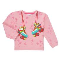 Clothing Girl Sweaters Desigual MARGARA Pink
