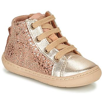 Shoes Girl Mid boots Bisgaard VILLUM Pink