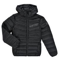 Clothing Boy Duffel coats Kaporal JOLYM Black
