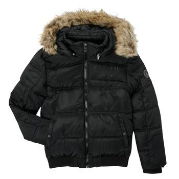 Clothing Boy Duffel coats Kaporal JOMIR Black