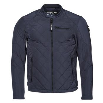 Clothing Men Jackets Replay M8000 Blue