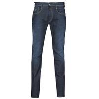 Clothing Men Slim jeans Replay ANBASS Blue / Dark
