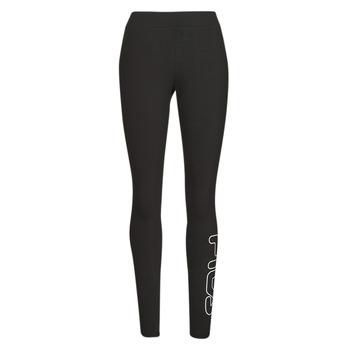 Clothing Women Leggings Fila FLEXY Black