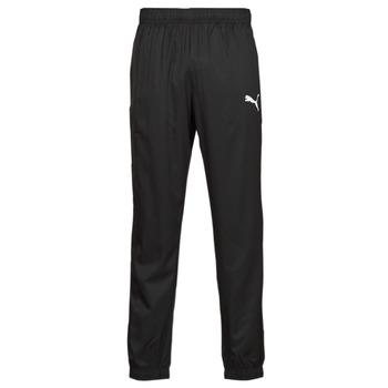 Clothing Men Tracksuit bottoms Puma ESS ACTIVE WOVEN PANT Black