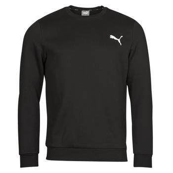 Clothing Men Sweaters Puma ESS CREW SWEAT FL Black