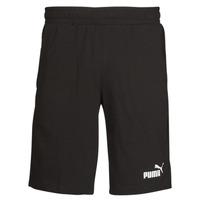 Clothing Men Shorts / Bermudas Puma ESS JERSEY SHORT Black