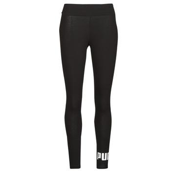 Clothing Women Leggings Puma ESS LOGO LEGGINGS Black