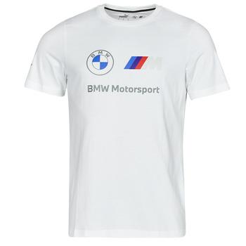 Clothing Men Short-sleeved t-shirts Puma BMW MMS ESS LOGO TEE White