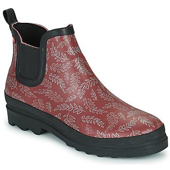 Shoes Women Wellington boots Sanita FELICIA Bordeaux