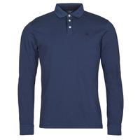 Clothing Men Long-sleeved polo shirts Hackett HM550879 Blue