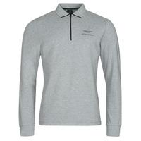 Clothing Men Long-sleeved polo shirts Hackett HM550878 Grey