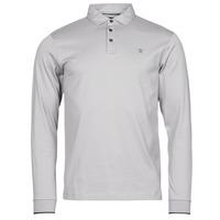 Clothing Men Long-sleeved polo shirts Hackett HM550880 Grey