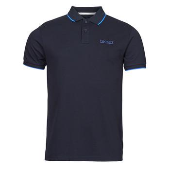 Clothing Men Short-sleeved polo shirts Hackett HM562897 Marine