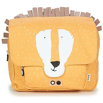 Bags Children Satchels TRIXIE MISTER LION Yellow