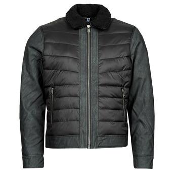 Clothing Men Jackets Kaporal AZID Black