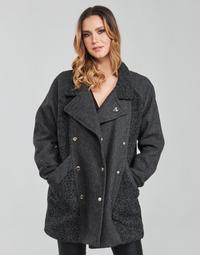 Clothing Women Coats Kaporal FLOWY Grey
