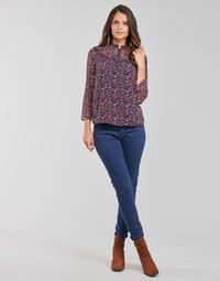 Clothing Women 5-pocket trousers One Step FT22021 Marine