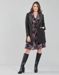 Clothing Women Coats One Step FT44061 Kaki / Grey
