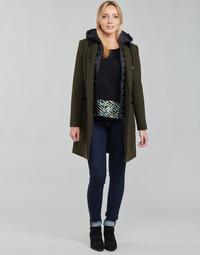 Clothing Women Coats One Step FT44111 Kaki