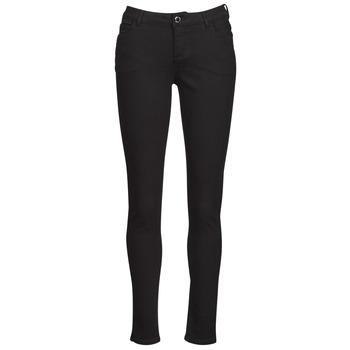 Clothing Women 5-pocket trousers Morgan PETRA Black