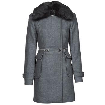 Clothing Women Coats Morgan GKATHY Grey / Anthracite