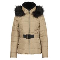 Clothing Women Duffel coats Morgan GALIX Hazelnut